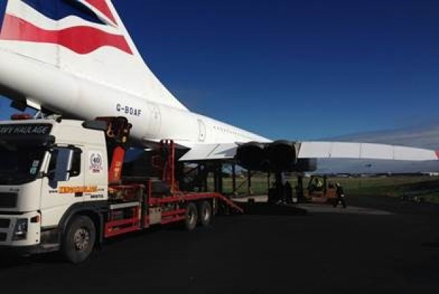 Concorde is on the move